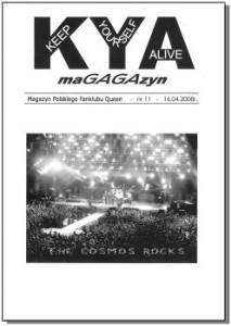 KYA 11 Numer 11 wydany 16.04.2008 r.