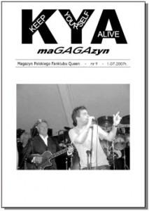 KYA 9 Numer 9 wydany 1.07.2007 r.