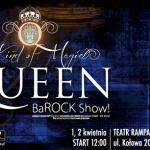 "CASTING do musicalu ""Queen - The BaROCK Show"", Teatr Rampa, Warszawa"
