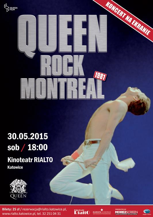 Queen Rock Montreal Katowice Kinoteatr Rialto