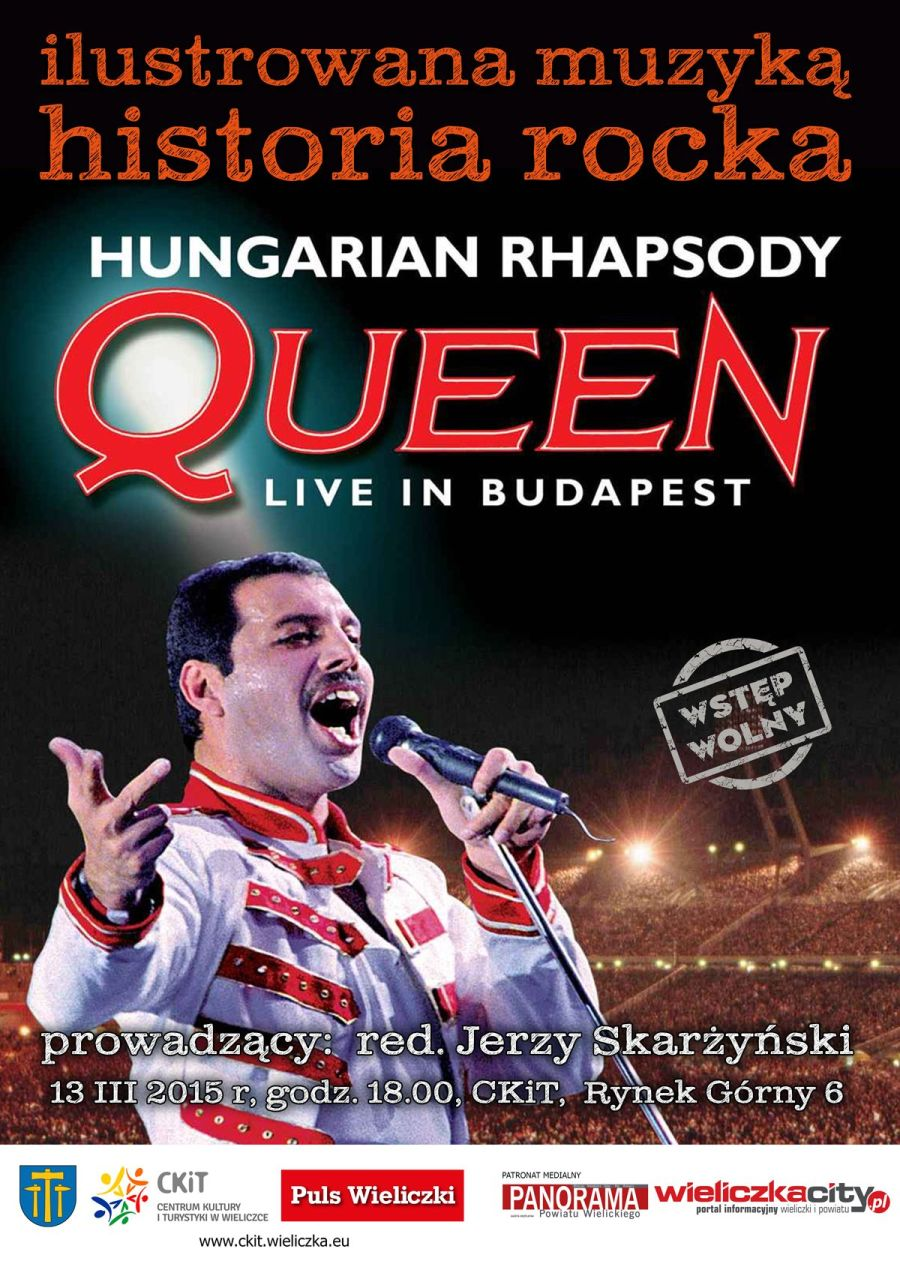 ILUSTROWANA MUZYKĄ HISTORIA ROCKA - Queen