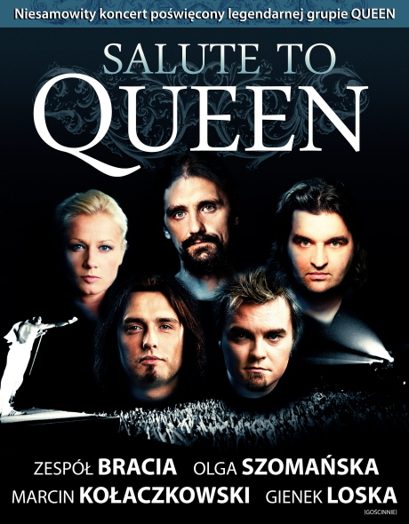 Salute to Queen w Spodku
