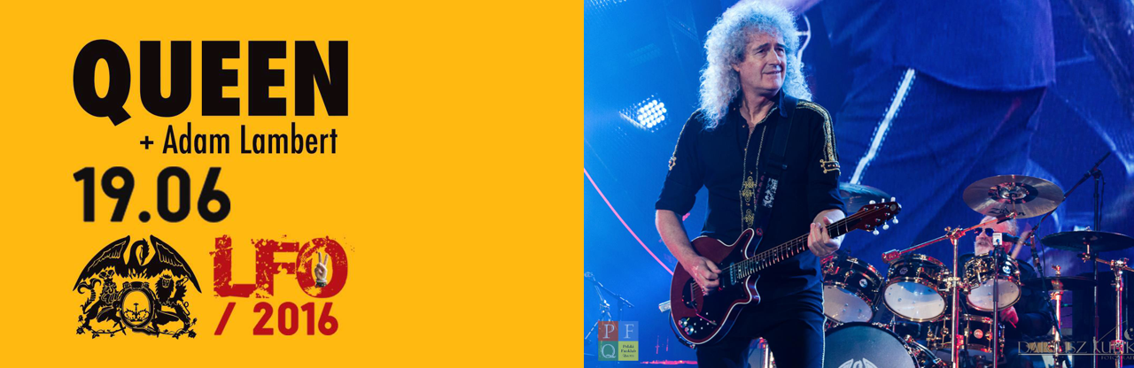 Koncert Queen + Adam Lambert na Life Festival Oświęcim 2016