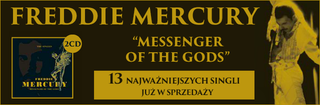 Freddie Mercury: Messenger Of The Gods – The Singles