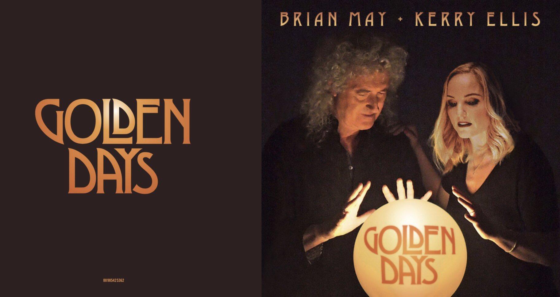 Premiera płyty – Brian May + Kerry Ellis – Golden Days ...