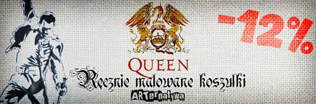 Koszulki z Queen na zamówienie