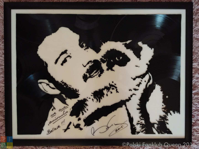 """Aukcja charytatywna obrazu """"Freddie z Tiffany"""" z autografem Briana"""