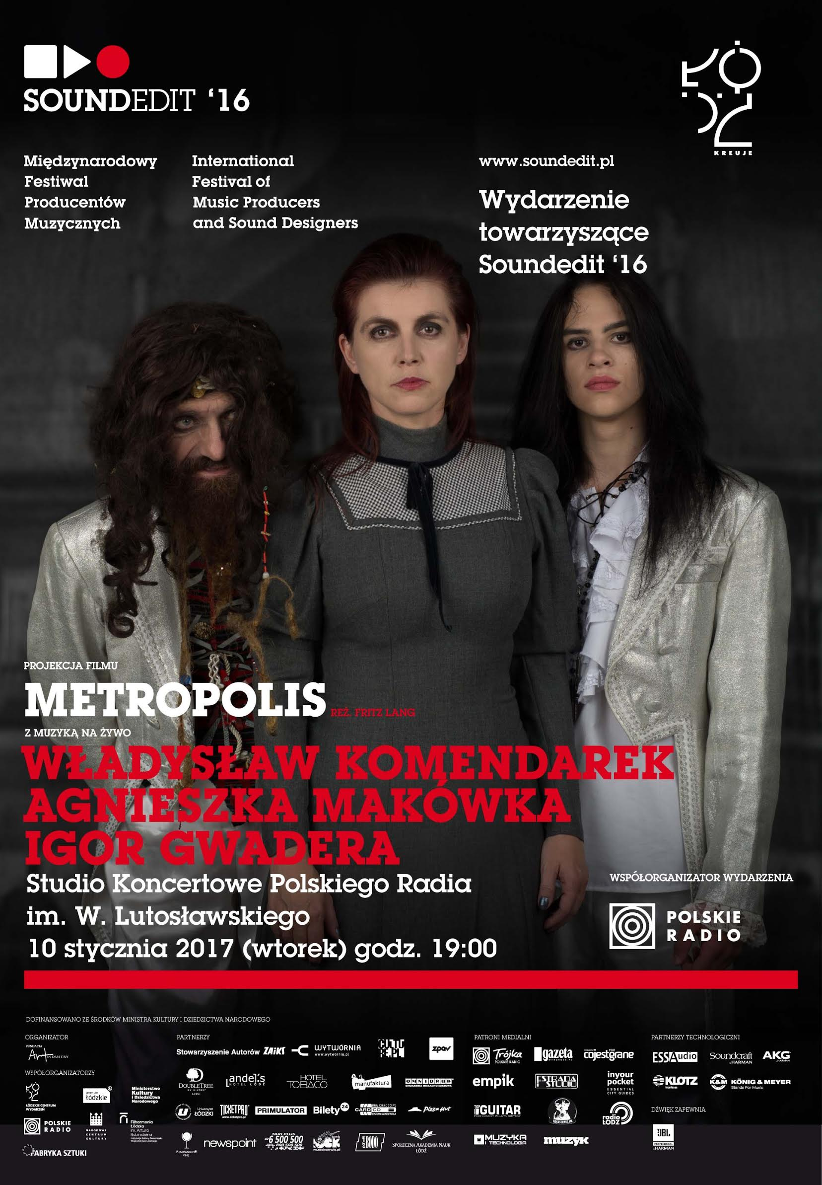 "Projekt ""Metropolis"" w Polskim Radiu."