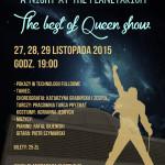 poster_queen planetarium_olsztyn