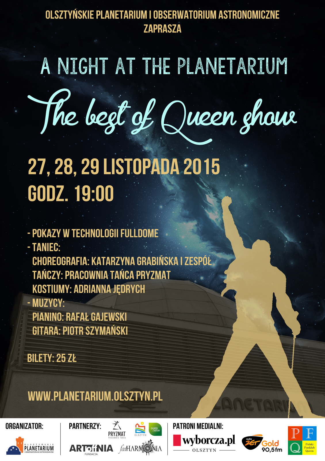 The best of Queen show - A night at the Planetarium