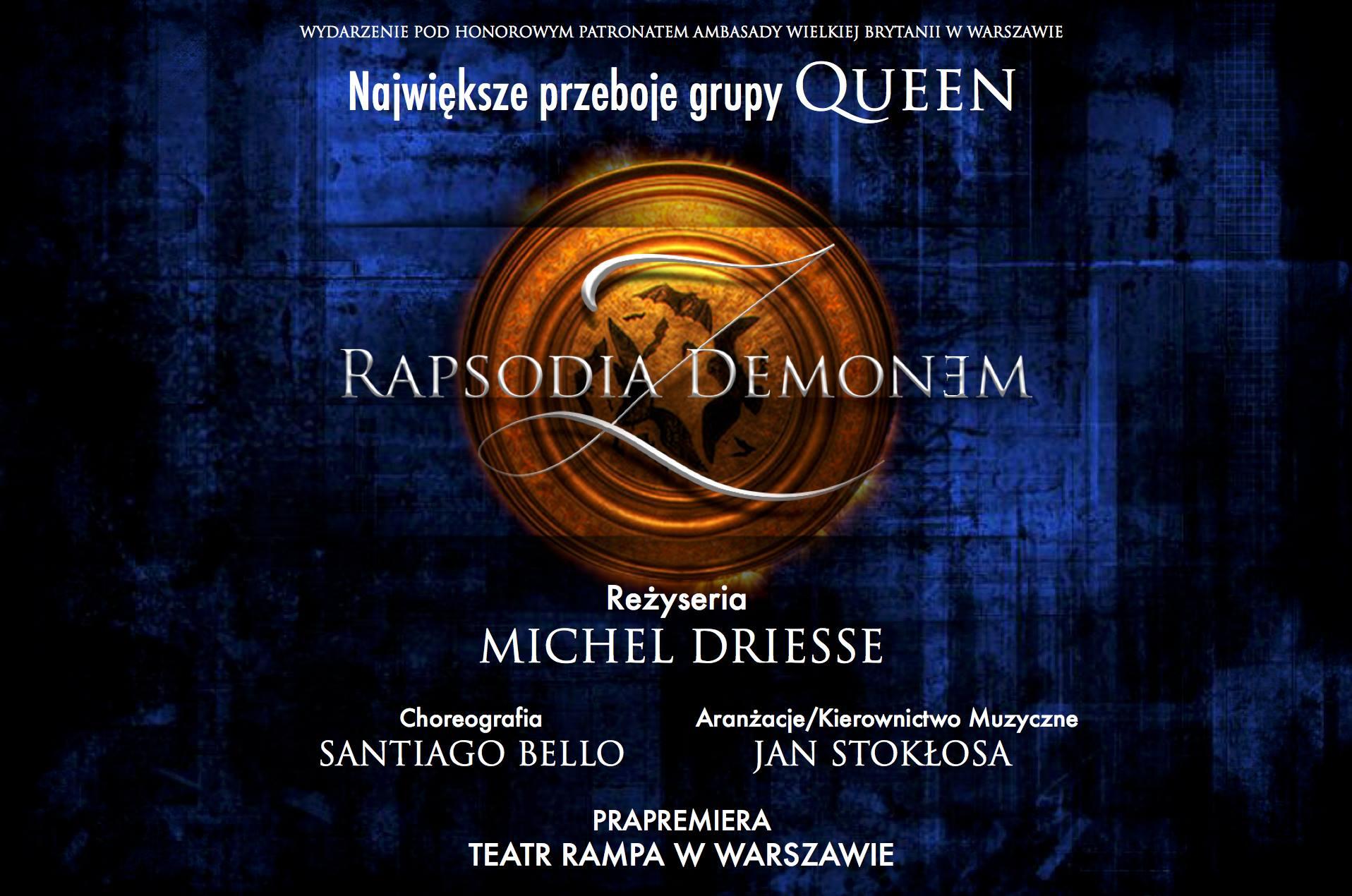 Bilety na Rapsodię z Demonem dostępne