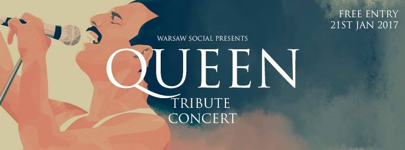 Free Queen Tribute Concert with Warsaw Social - Warszawa