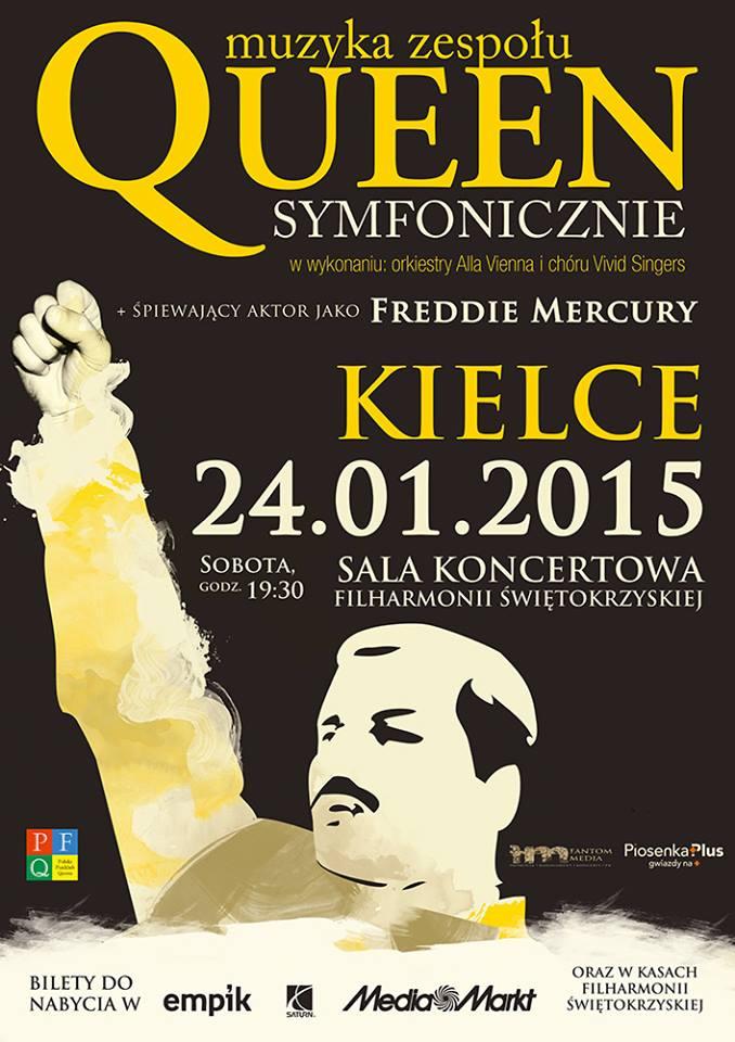 Queen Symfonicznie - Kielce