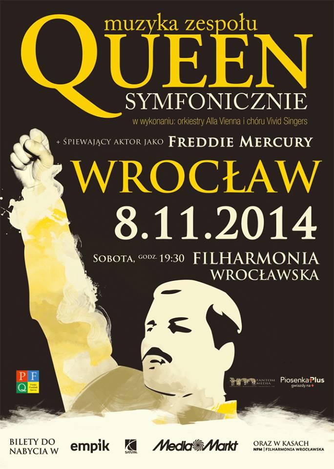 2 razy x Queen Symfonicznie - Wrocław