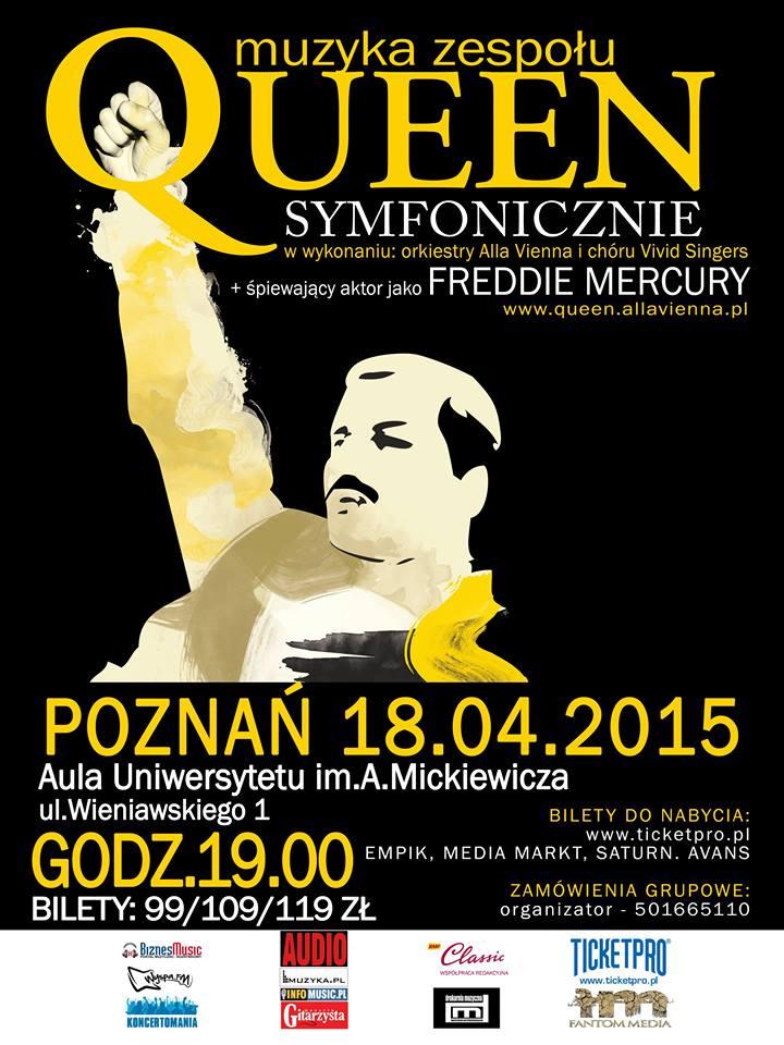 Queen Symfonicznie - Poznań