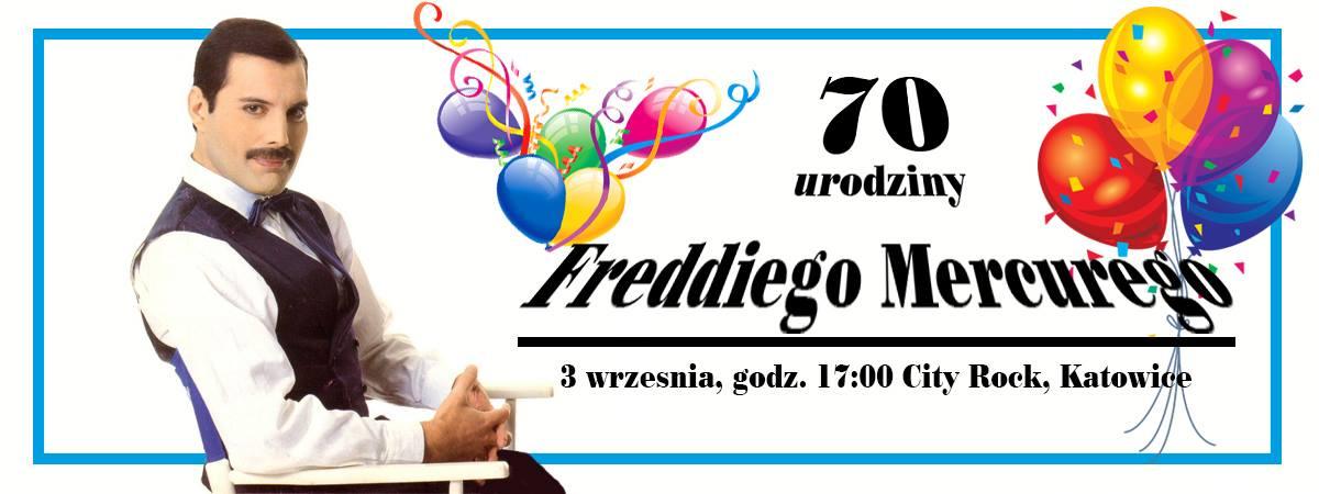 Urodziny Freddiego Mercury'ego w Katowicach
