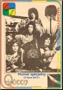 Numer specjalny z okazji 40-lecia ukazania się pierwszego albumu Queen wydany 13.07.2013