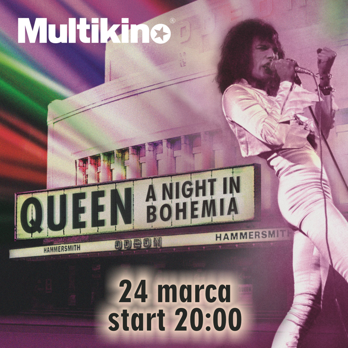 Queen - A Night in Bohemia w Multikinach