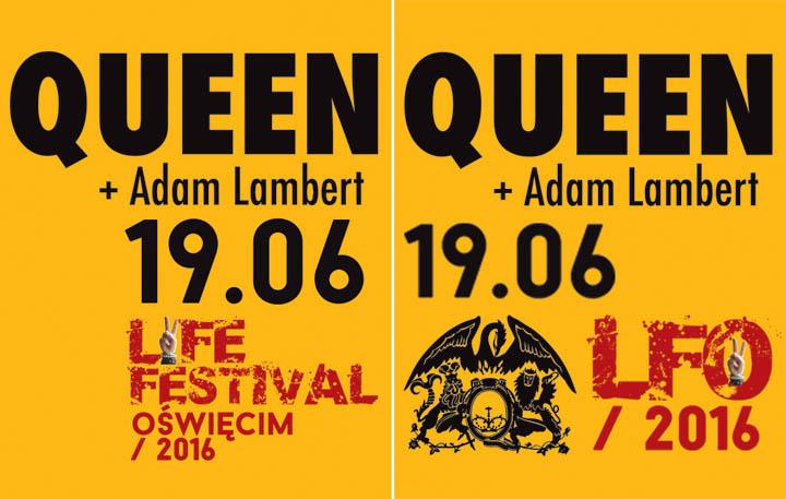 Queen + Adam Lambert - Life Festival Oświęcim