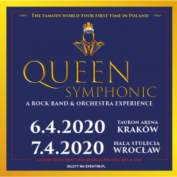 Queen Symphonic: A Rock Band & Orchestra Experience - Wrocław