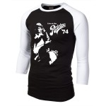 Queen-Queen-Live-At-The-Rainbow-74-Black-Baseball-Shirt-Small