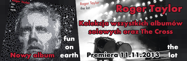 Roger Taylor - Premiera Fun on Earth i The Lot