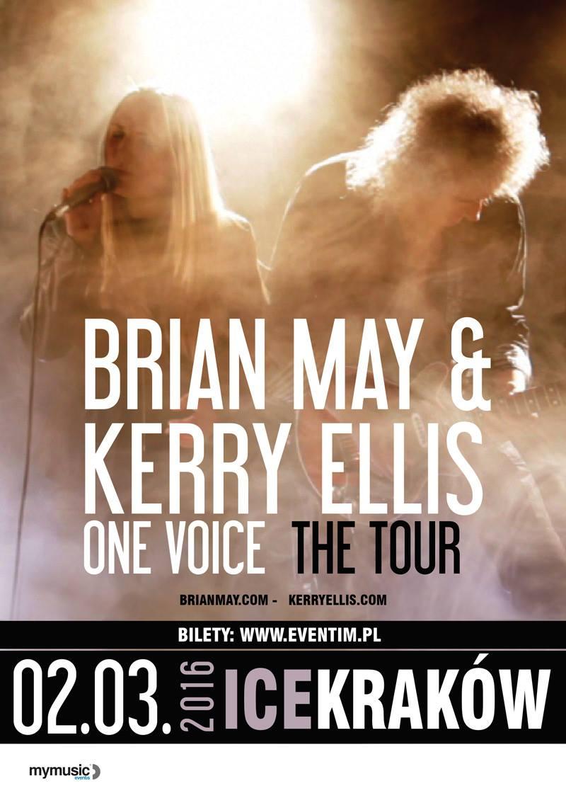 Brian May i Kerry Ellis w Krakowie!