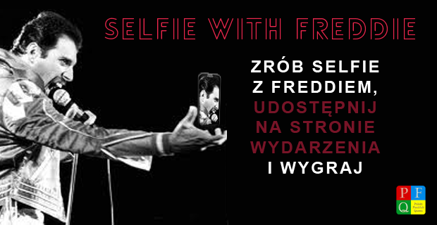 Konkurs 'Selfie with Freddie'