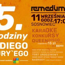 75.urodziny Freddiego Mercury`ego - Sosnowiec