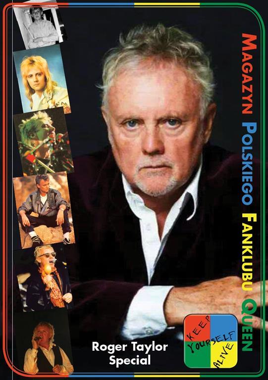 """Numer specjalny magazynu fanklubowego KYA poświęcony """"Fun on Earth"""" Rogera Taylora"""