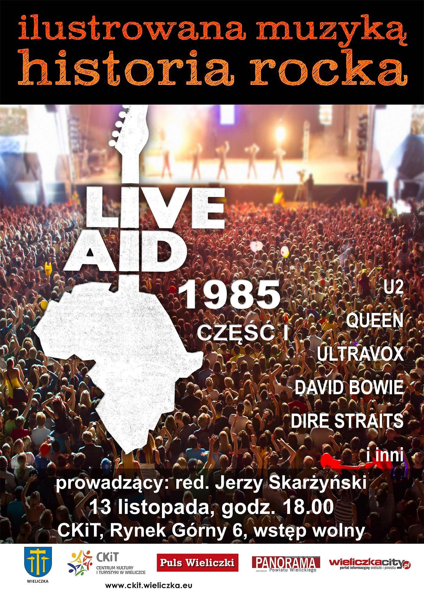Ilustrowana Muzyką Historia Rocka (Live Aid)