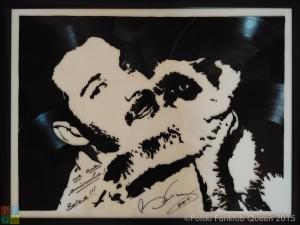 widok ogólny na obraz Freddie z Tiffany