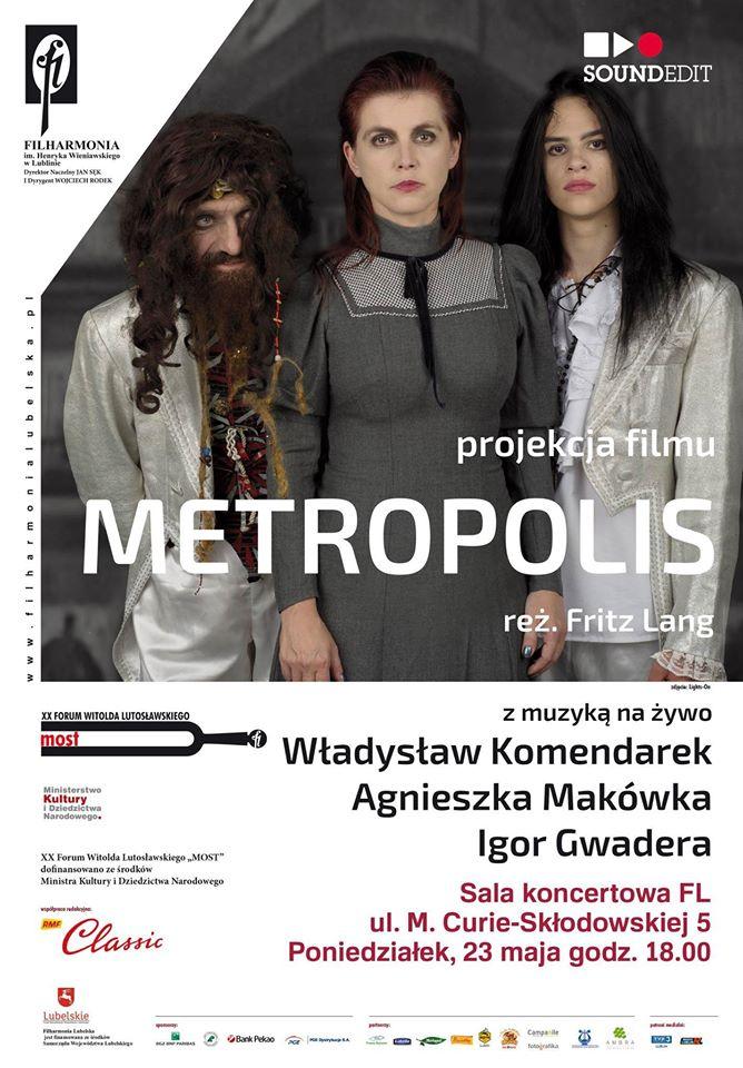 "Projekt ""Metropolis"" w Filharmonii Lubelskiej"