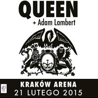 Strona poświęcona koncertowi Queen + Adam Lambert w Krakowie
