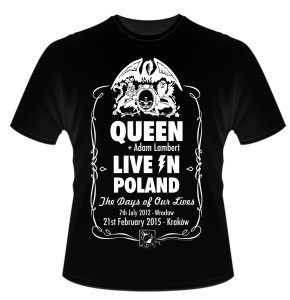 Koszulka Queen + Adam Lambert w Krakowie