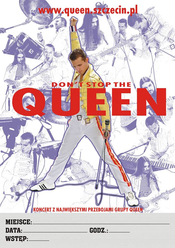Koncert noworoczny Don't Stop the Queen - Szczecin