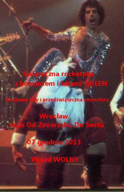 Świąteczna rockoteka z Queen we Wrocławiu