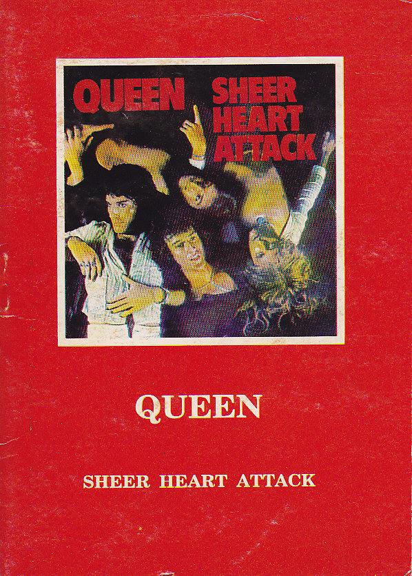 Kącik książkowy Queen